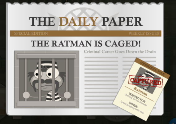 ratman caged