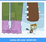 Having one giant adventure!
