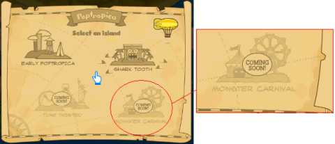 Monster Carnival on the map