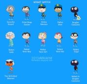 Night Watch Island characters