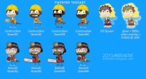 Twisted Thicket Island characters