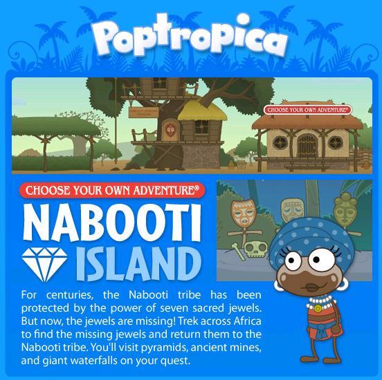 poptropica  cheats nabooti island
