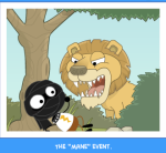 "The ""mane"" event."