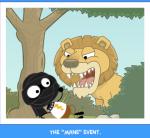 "The ""mane"" event."