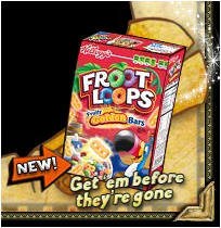 Froot Loops Cereal Bars FL Pirates – ...