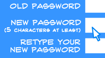 Changing your password