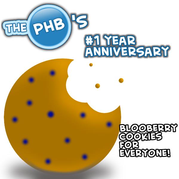 PHB's _1 Anniversary cookie