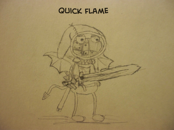 Quick Flame's Drawing