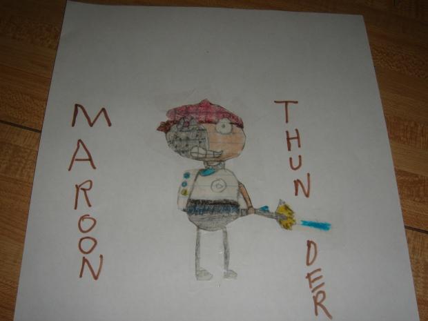 Maroon Thunder2