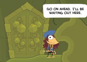 hades throne door