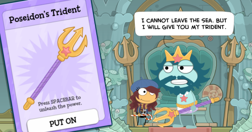 How To Get To Poseidon S Throne Room On Poptropica