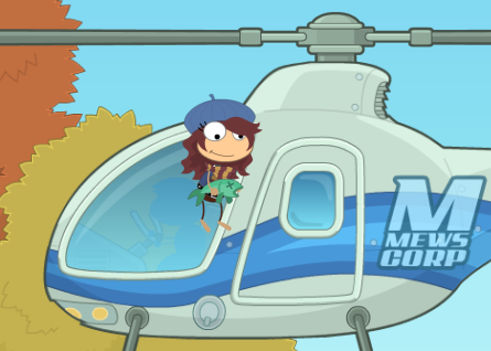 mews helicopter