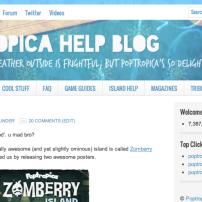 "In 2012, the site had another makeover, using the ""Lifestyle"" theme."