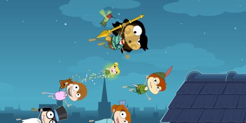 Peter Pan in Poptropica