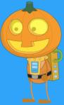 Robot Pumpkin (Explorer Bronze)