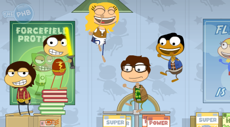The Big Bang Theory in Poptropica