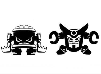 Battlemechs: Don't mess with these battle bots.