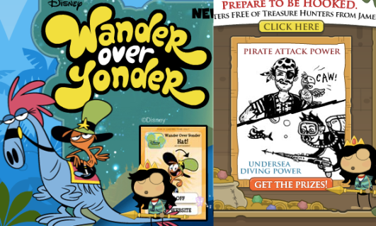 yonder and treasure ads