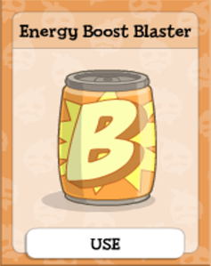 Energy Boost Blaster