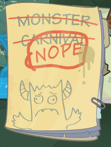 monster carnival nope