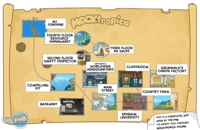 how to get more islands on poptropica