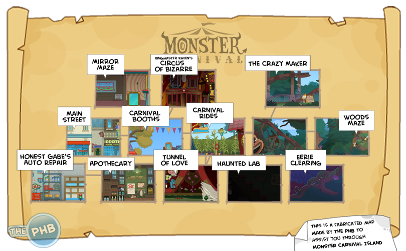 Monster Carnival Island Guide Poptropica Help Blog