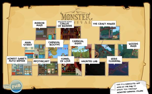 monstercarnival map