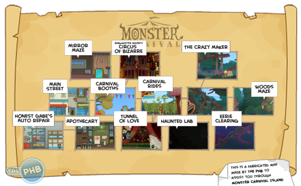 monstercarnival map