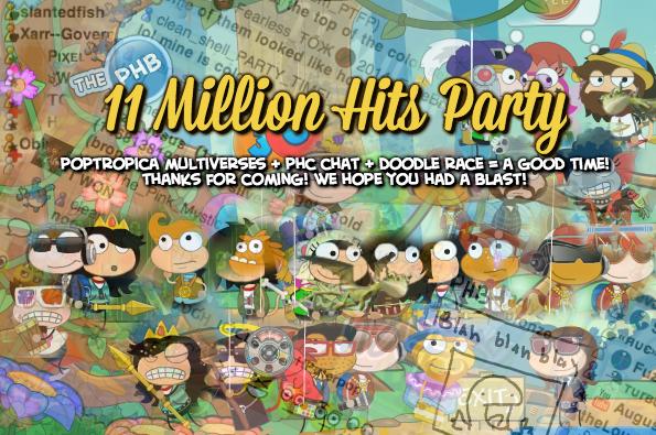 11m party recap