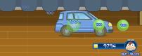 car moving