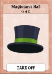 dc magician's hat
