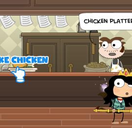 take chicken