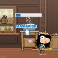 wash dish