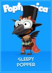 Ringmaster Raven with beak (won by Big Kid)