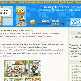 """The PHB began as Scary Tomato's Weblog in 2008 with the """"Connections"""" theme."""