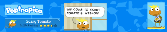 ScaryTomato's Weblog Header