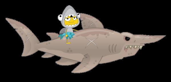 sharkWithShark