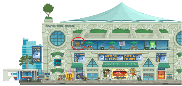 Poptropicon center bts images 1 - edit