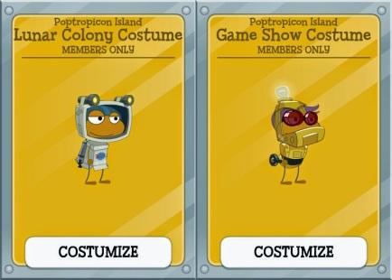 poptropicon costumes