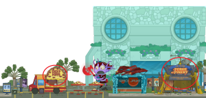 Poptropicon parking bts images 1 - edit