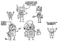 Way Back Week: The robot revolution begins on Game Show Island.