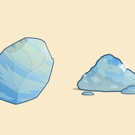 Dust to Dust: This gemstone is a smash hit.