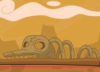 Skeletal: Looks like something you'd see on Tatooine.