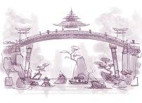 Way Back Week: Bridging cultures on Red Dragon Island.