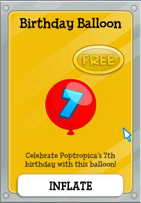 b-dayballon
