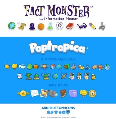 poptropica icons