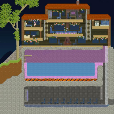 Serious Bird: sub-pool theater