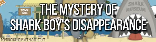 shark boy mystery