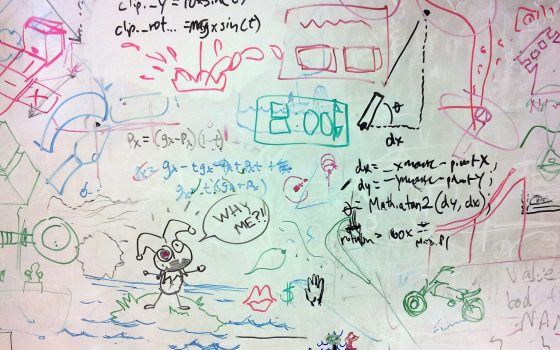 The white board we have at work hasn't been erased for about 7 years.