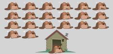 ad dog animation